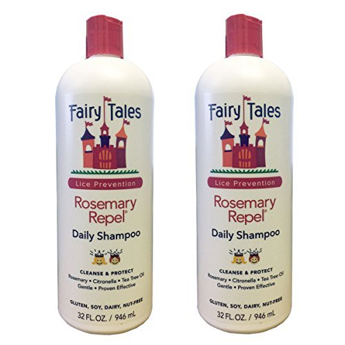 Fairy Tales Rosemary Repel Lice Shampoo 32 oz Lot of 2 by Fairy Tales