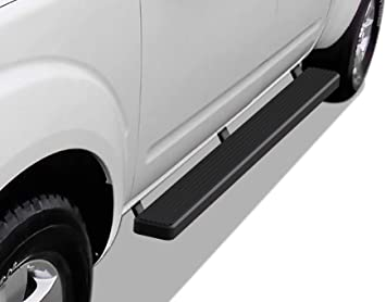 """For 2005-2019 Frontier Crew Cab 3/"""" Matte Black Side Step Nerf Bars Running Board"""
