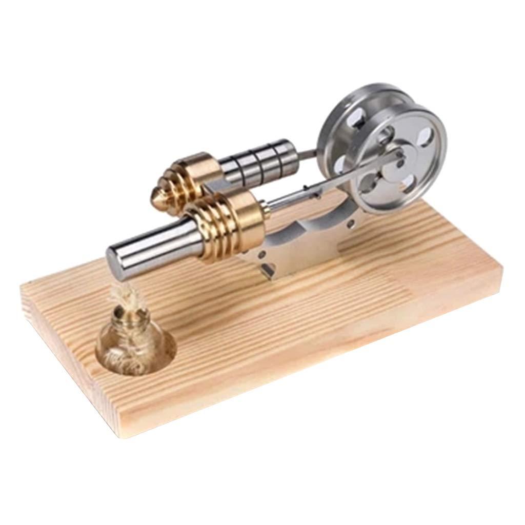 F Fityle Juego de Generador de Electricidad Motor Stirling de Vapor Juquetes Modelo Desarrollo Imaginació n Niñ os