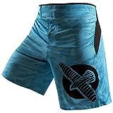 Hayabusa Weld3 Fight Shorts, 32, Blue