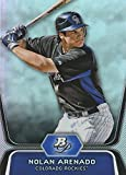 2012 Bowman Platinum Prospects Nolan Arenado Colorado Rockies Baseball Rookie Card #BPP2