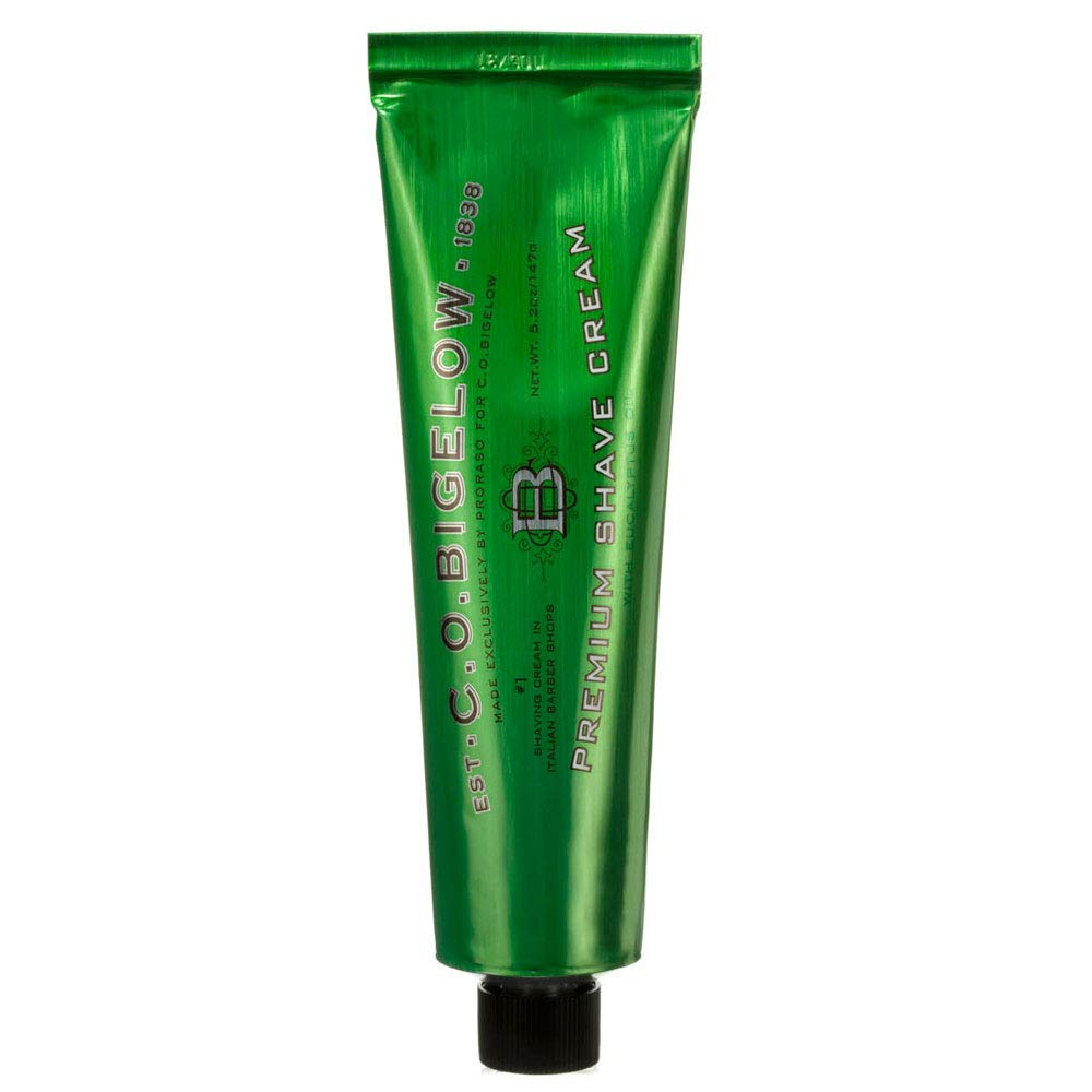 C.O. Bigelow Premium Shave Cream with Eucalyptus Oil 147g/5.2oz
