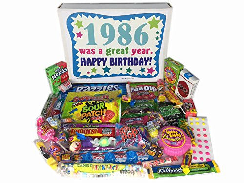 1986 31st Birthday Gift Basket