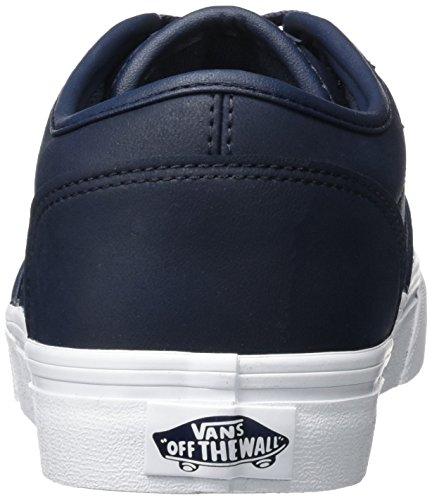 Basse Blu da Vans Scarpe Parisian White Mn Leather Atwood Uomo Ginnastica wntq0X1xq