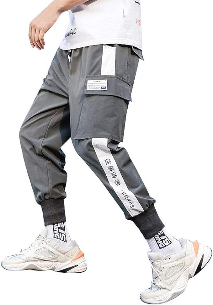 JiaMeng Pantalones de hombre Pantalón Casual para Hombre ...