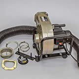 BUCKTOOL 1HP 6.5AMP Wall-mount Dust Collector with