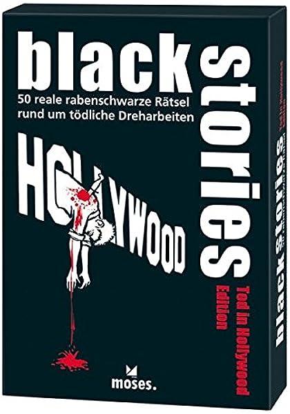 moses. Black Stories Muerte en Hollywood | 50 acertijos. | el Krimi Juego de Cartas: Berger, Nicola: Amazon.es: Juguetes y juegos