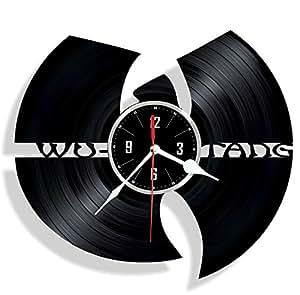 WU-tang vinilo reloj de pared/regalo para él/regalo para mujer/
