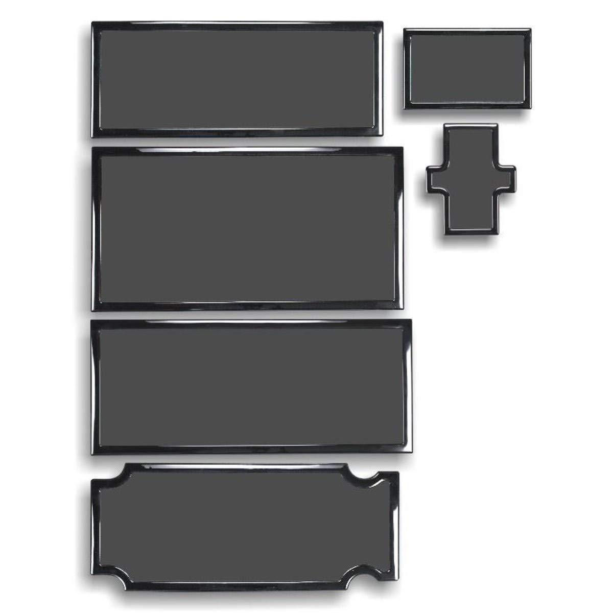 DEMCiflex Dust Filter Kit for Thermaltake Core X71, Black Frame/Black Mesh by DEMCiflex