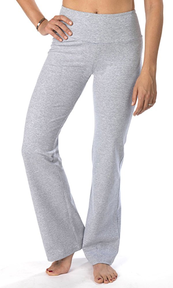 The Girls Tummy Control Women's Tall Boot Cut Pant Small Tall Heather Grey by The Girls
