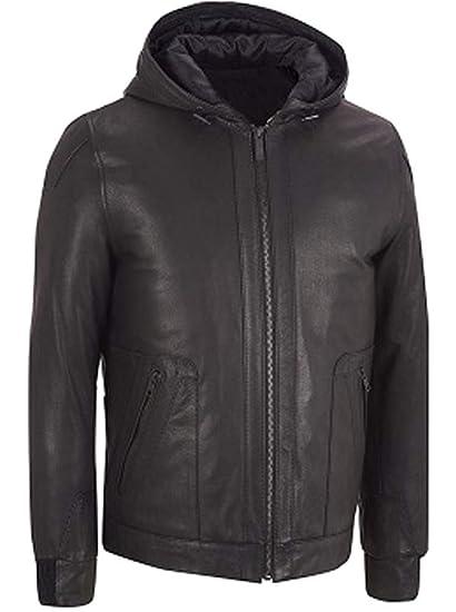 Stormwise Mens Fashion Slim Fit Genuine Leather Vest