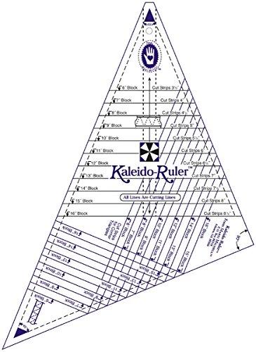 Large Kaleido-Ruler-6 To 16 Blocks