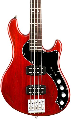 Fender American Elite Dimension Bass IV - Cayenne Burst -  0192900728