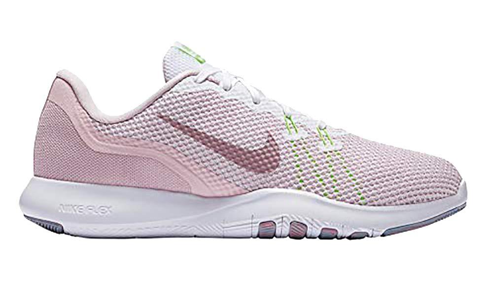 367b26561d80 Galleon - Nike Women s Flex TR 7 Training Shoe White Elemental Rose Barely  Rose Size 9.5 M US