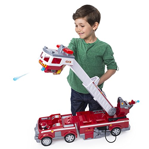 PAW Patrol - Ultimate Rescue Fire Truck with Extendable 2 ft. Tall Ladder, for Ages 3 and Up by Paw Patrol (Image #2)