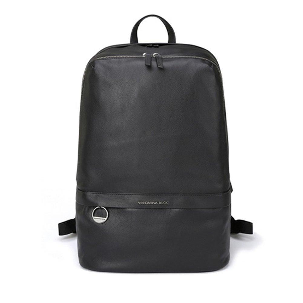 MANDARINA DUCK DUPLEX 2.0 NGT12 Casual Backpack,School Bag Navy & Free Gift (Key Ring) (BLACK)