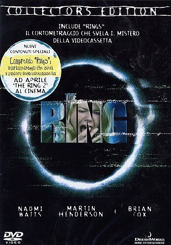 Amazon Com The Ring 2002 Ce Italian Edition Naomi Watts Brian Cox Gore Verbinski Movies Tv
