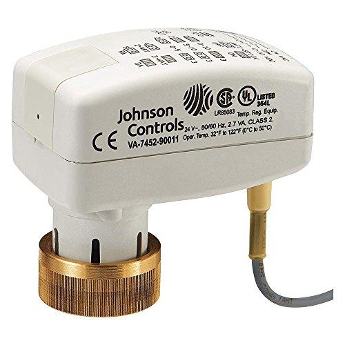Johnson Controls VA-7482-0312 Proportional Electric Ball Valve Actuator, 24 Vac/Vdc ()