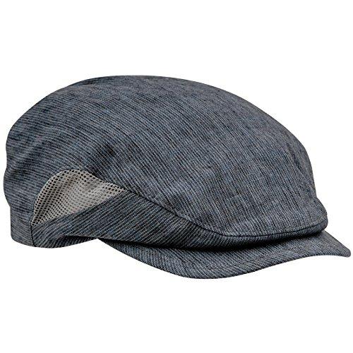 Sterkowski Linen Newsboy Ivy League Gatsby Retro Flat Cap 6 3/4 Blue