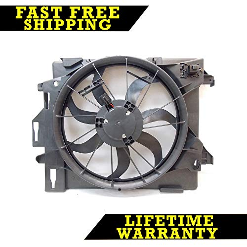 (RADIATOR CONDENSER COOLING FAN FOR DG FITS CARAVAN TOWN & COUNTRY CH3115157)