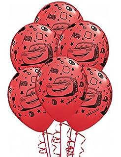 ballons anniversaire cars x6