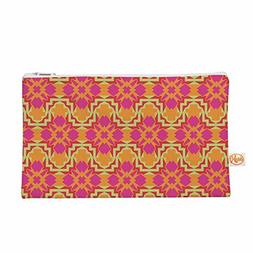 Kess eigene 12,5x 21,6cm Miranda Mol Jazzy Alles Tasche–Orange/Pink