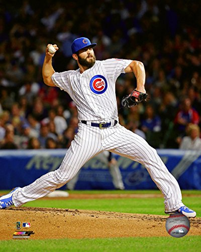 Photo Jake (Jake Arrieta Chicago Cubs 2015 MLB Action Photo (Size: 8