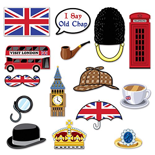 Beistle British Photo Fun Signs, 5