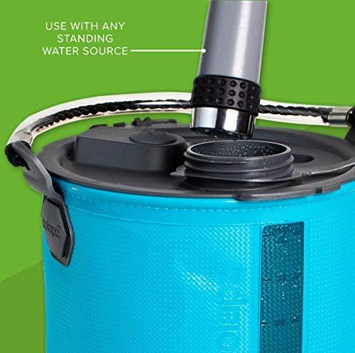 Wiederaufladbare Campingdusche von Colapz eine Wasserstrahld/üse Transporttasche mit inbegriffen Jet-W/äsche f/ür Fahrr/äder Ein Duschkopf Tragbare Dusche f/ür Hunde