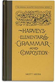 Harvey's Elementary Grammar and Composition (0880620412) | Amazon price tracker / tracking, Amazon price history charts, Amazon price watches, Amazon price drop alerts