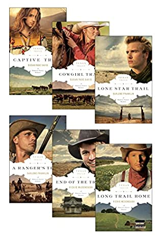 book cover of The Texas Trails Series