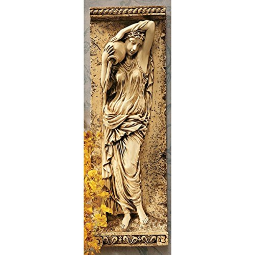 Design Toscano Water Maidens Dordogne Wall Frieze in Antique Stone ()