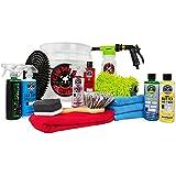 Chemical Guys HOL148 Car Wash Bucket Kit with Foam Blaster 6 Foam Gun (16 Items), 16 fl. oz, 16 Pack