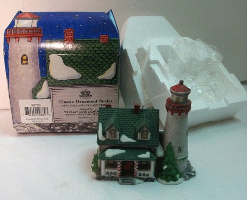 Dept 56 Classic Ornament Series New England Village Series
