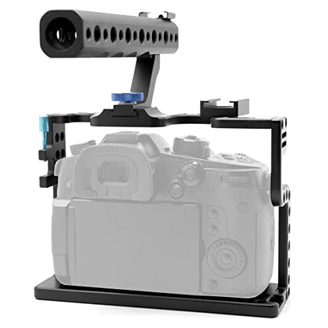 Feichao - Juego de Jaula de Aluminio para cámara réflex Digital ...