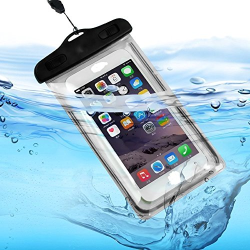 resistente al agua 30/m Bolsa impermeable universal para m/óvil Drawihi para actividades al aire libre