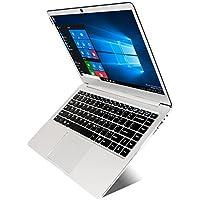 Jumper EZbook 3L Pro 14 FHD Laptop Intel N3450 6G RAM 64G Ultrabook Dual Band AC WiFi Full Metal Shell Notebook M.2 SATA SSD Slot (Silver)
