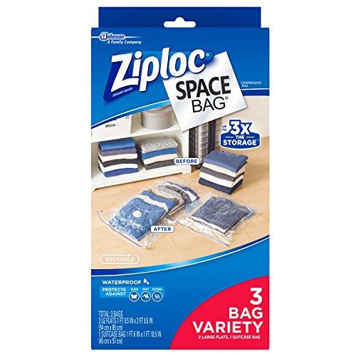Ziploc Space Bag  Variety Pack (2 Large
