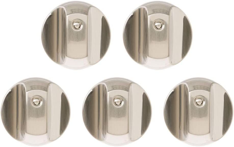 WB03T10329 WB03X25889 Cooktop Burner Control Knob for GE Cafe CGP350SETSS & CGP650SETSS Series. Range Dial Knob Replace WB03T10329, WB03X25889, 4920893, WB03X32194. 5pcs