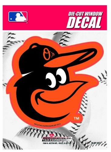 MLB Baltimore Orioles Die-Cut Window Decal