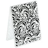 Sizzix 661822 Flourish Texture Fades Embossing Folder