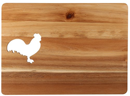 rooster cheese board - 7
