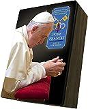 Catholic to the Max|Pope Francis Apostolic Journey, 4x6.5x2.5in Wooden Keepsake Rosary Jewelry Box