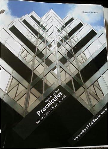 Precalculus 7th Edition Barnett Ziegler Pdf