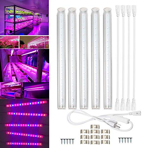 Dastrues 30cm Full Spectrum LED Grow Light Indoor Garden Plant Verduras Crecientes Luces Tubos