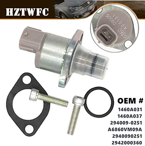 HZTWFC Diesel Injection Fuel Pump Suction Control Valve Regulator 1460A031 1460A037 Compatible for Mitsubishi Pajero Montero 3 III Pickup Triton L200 4D56 4M41