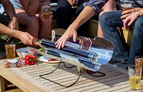 GOSUN Sport - Grill Solar Cooker Kit with Spork Eating Utensil Set, 7 Silicon Baking Trays, Brew and Padded Carrying Case from Off-Grid Gear 2 Go
