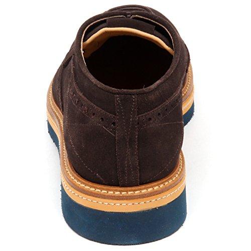 Scarpe Scarpa Uomo Sax Inglese Shoe Suede E4612 Man Brown Marrone Xqwftx5f