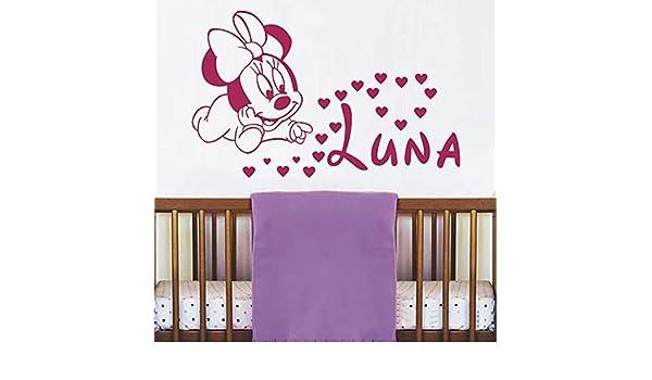 sanzangtang Nombre calcomanía niños ratón Vinilo Etiqueta de la ...