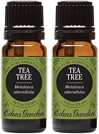 Edens Garden Tea Tree Essential Oil, 100% Pure Therapeutic Grade (Highest Quality Aromatherapy Oils- Allergies & Inflammation), 10 ml Value Pack